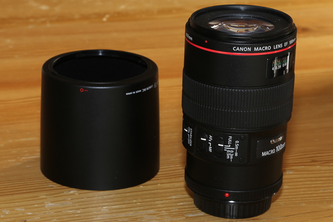 Canon EF 100 mm F/2.8 L IS USM
